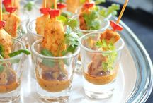PARTY SEASON CANAPÉS / Canapés & Party Food I like... Tis the season!