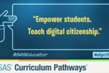 Digital Citizenship / Ideas, Lessons, and Resources supporting safe, responsible interaction in the digital world