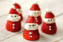 Healthy Christmas Food / My attempts to reduce the sugar a little at this time of year! Ideas, inspiration and recipes for healthy treats for the kids this Christmas.  Lets get creative and make healthy food fun and festive too!