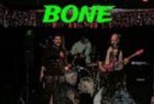 """BONE / Our band reclaimed the name """"BONE"""" Images froma site in the making http://bone.isinthehouse.com"""