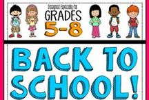 Back-to-School / Back-to-School time is the most wonderfully stressful time of the year!! Check out these tips, tricks, lesson ideas, and classroom decoration inspiration to make your transition back to school as smooth as possible.