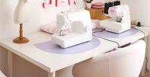 Déco : Bureau/Atelier couture