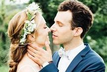 Nos mariées / Coiffures et maquillages mariage réalisés par notre équipe de coiffeurs privés