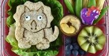 Bento Box Lunches for Kids / The best bento box ideas for kids, with creative food art, fun food bento boxes as well as quick and easy packed lunches. All the inspiration you need for packing kids lunches all the year around!