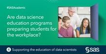 Support the Education of Data Scientists / Help bridge the gap between the supply of and demand for analytical talent in today's business world.