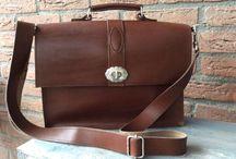 #Inkie's #leather #bags #handmade / Inkie's leren tassen atelier #bags