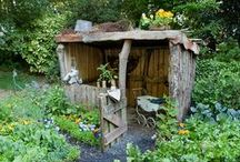 º hide aways º / Tents, forts and playhouses...