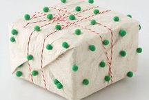º creative wrapping º / Unexpected gift wrapping ideas...