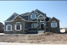 Craftsman Crescendo Plan / Check out this beautiful craftsman style home in Farmington, Utah. Come on into our design center for more information 526 North 400 West North Salt Lake, Utah