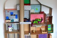 º so you've got a cardboard box...º / All kinds of things to make with cardboard...