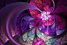 Fractal Inspirations / Beauty and uniqueness of Fractal Art. / by Lori Meusch-Smith