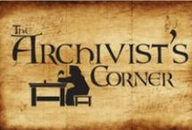 The Archivist's Corner by Carolyn Emerick / The Archivist's Corner is a column that explores hidden tidbits from history, such as medieval poetry, Scottish ballads, British folklore, lost dialects, traditional clothing, fairy stories, and more! It is featured in Celtic Guide magazine and on my website, www.carolynemerick.com.