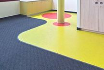 ・ MIPOLAM SYMBIOZ / Heavy traffic eco-responsible homogeneous flooring made from 100% bio-based plasticizer.