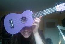 I have a purple ukulele