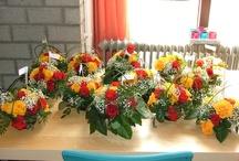 crea met bloemen