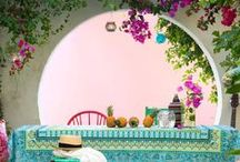 Outdoor Spaces / Gardens, patios and outdoor spaces I like...