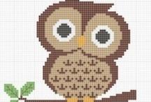 X-Stitch / Cross-stitch patterns + ideas