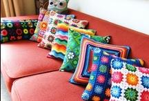 Cushions + Pillows / Cushions, pillows, pillowcases...