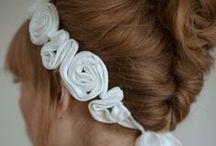 Hair / DIY hair accessories, hairstyles, hair treatments...