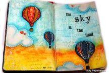 Journals / DIY journals, notebooks, books, planners, etc