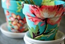 Ceramics / Mainly different ways of painting / decorating ceramic objects...