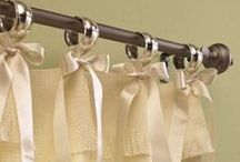 Window Dressing / How to make curtains and blinds