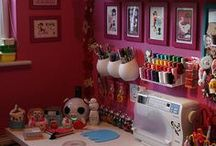 Studio / Home office, craft / sewing room - creative spaces