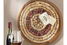 Cork / Items to make with wine corks.