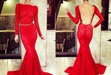 Red Evening Dresses / Red Evening Dress, Affordable Evening Dress UK, Elliot Claire Red Evening Dresses