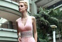Pink Evening Dresses / Pink Evening Dress, Affordable Evening Dress UK, Elliot Claire Pink Evening Dresses