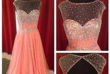 Peach Evening Dresses / Peach Evening Dress, Affordable Evening Dresses UK, Elliot Claire Peach Evening Dresses