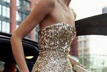 Gold Evening Dresses / Gold Evening Dress, Affordable Evening Dress, Elliot Claire Evening Dresses