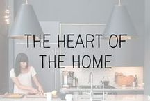 """interiors // kitchen & dining / """"Good food and a warm kitchen are what makes a house a home."""" - Rachael Ray"""