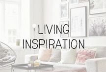 """interiors // living / """"The living room should be a place where we feel totally at ease"""" - Terence Conran"""