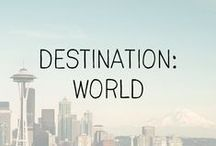 """travel // destination / """"We shall not cease from exploration, and the end of all our exploring will be to arrive where we started and know the place for the first time."""" - T. S. Eliot"""