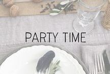 """entertain // tables & decor / """"That's what life is all about: Let's have a party. Let's have it tonight."""" - Lilly Pulitzer"""