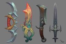 Concept art: Weapons