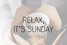mood // lazy sunday