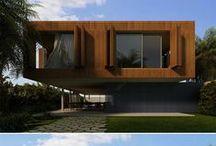 Wood architecture / Drewniana architektura - inspiracje