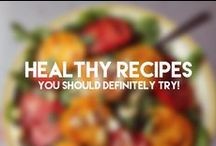 Healthy Recipes You Should Try Now / Delicious yet healthy recipes. Enjoy eating without the guilt, now that's a treat!