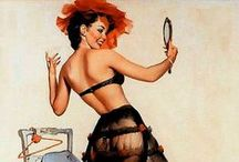 Pin Ups / PIN UPS , draws , illustrations , vintage / by Florence Duburque