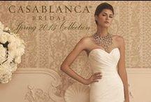 VOLUME XXVII / Spring 2013 Bridal Gown Collection / by Casablanca Bridal
