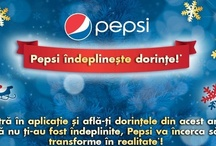 PEPSI WISHES / As 2012 comes to an end, is time to review our wishes, see what fulfilled and what didn't and also make new ones.  This is were Pepsi comes along! Christmas time is whishes time!  This year Pepsi will transform 3 whishes in reality! Listening to our fans whishes...well...this is inspiration for us!