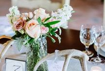 Wedding Table Decorations / A vast collection of wedding table decorations including wedding table numbers, wedding table ideas, wedding table settings, wedding table centerpieces, wedding table arrangements, and wedding table layouts. Dive in to be inspired!