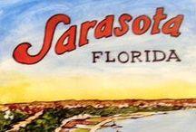 Sarasota Florida is wonderful / Where the natural beauty inspires great art