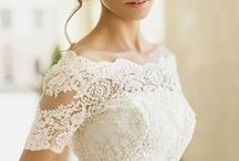 Wedding Dresses + Wedding Gowns / Lace wedding dresses, vintage wedding dresses, country wedding dresses, ivory wedding dresses, ball gown wedding dresses, simple wedding dresses, mermaid wedding dresses, plus size wedding dresses, backless wedding dresses, wedding dresses with sleeves--you name it and we've got it to serve as inspiration for your wedding day!