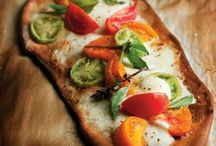 Healthy Pizza / Keep it healthy with healthy ingredients and whole grain crust.