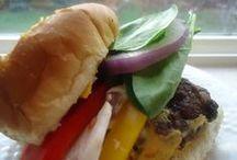 Healthy Burgers / Healthy Burger recipes / by Cherie Schetselaar [Grain Crazy]