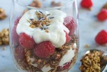 parfaits / parfaits are fun to eat anytime of the day.