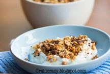 Granola and Muesli / Yummy and healthy way to add crunch to your meal.
